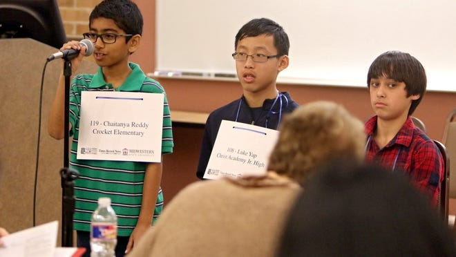 Times Record News file When he's not spelling, Luke Yap plays piano, practices martial arts and loves to play video games. Yap, an eighth-grader at Christ Academy, is competing this week in the Scripps National Spelling Bee.