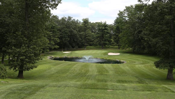 The 7th hole at Mohansic Golf Course in Yorktown July