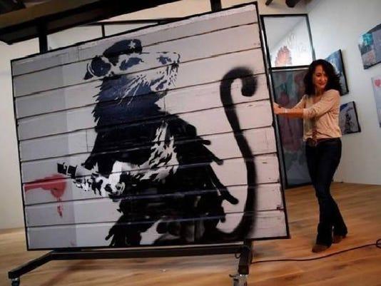 Haight Street Rat (Banksy)