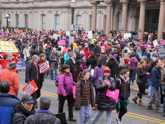 Women's March on New Jersey: Local groups to rally Saturday at second  annual event