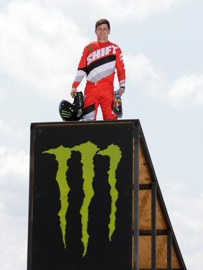 Alex Harvill, a 24-year-old motocross rider from Washington,