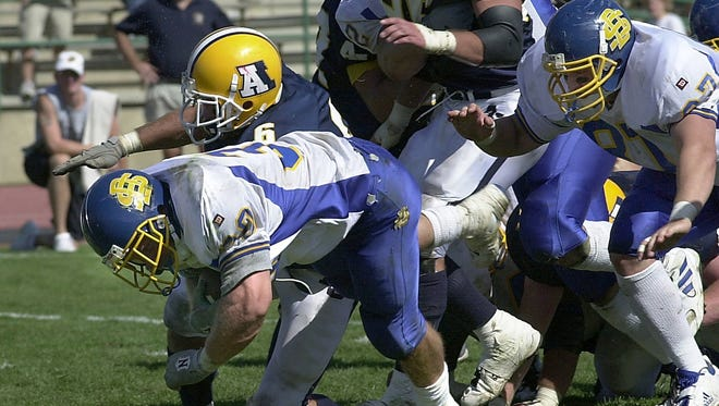 Augustana and SDSU were rivals for many years in the Division II North Central Conference