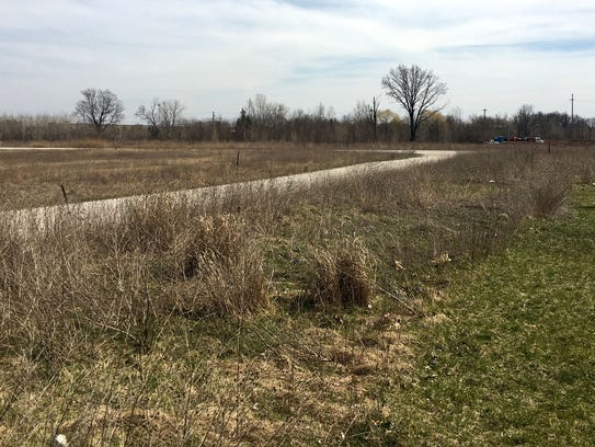 Future site of Five & Main in Commerce Township