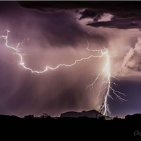 Arizona weather photos, summer 2017