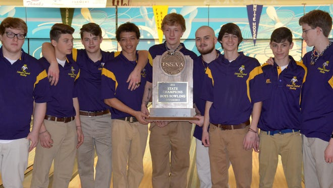 The Columbia Central boys bowling team won its fourth straight Division I state champion on Saturday at Smyrna Bowling Center.