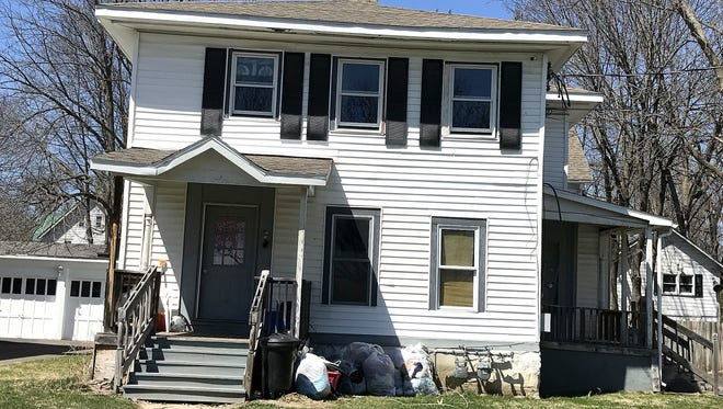 Elmira animal control officers seized 49 cats from this home on West Clinton Street.