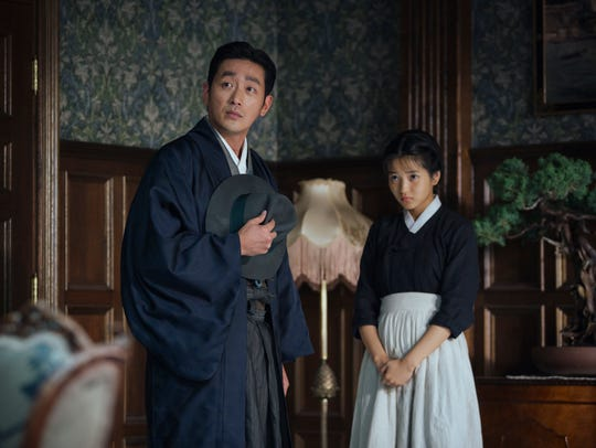 "In ""The Handmaiden,"" Count Fujiwara (Jung-woo Ha) and"