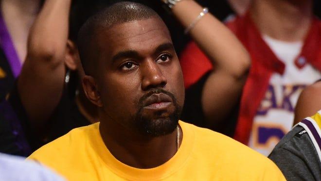 Kanye is not amused.