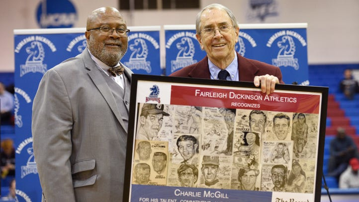 Fairleigh Dickinson University honors Record sports illustrator Charlie McGill