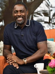 Idris Elba is seen on the set of 'Despierta America' to promote the film 'Dark Tower' at Univision Studios on Aug. 2, 2017 in Miami, Fla.