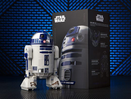 Control the Sphero R2-D2 with your smartphone and also