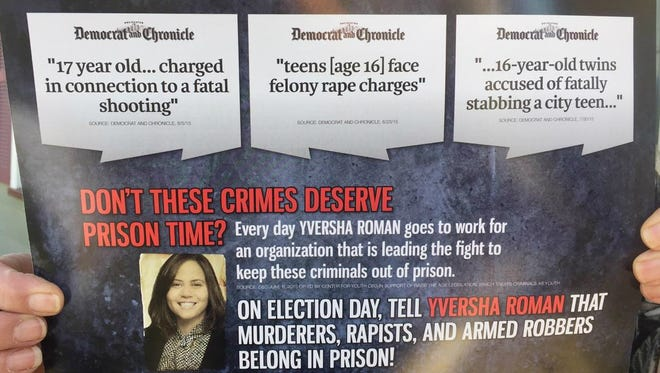 Democrats are upset about this late campaign mailer.