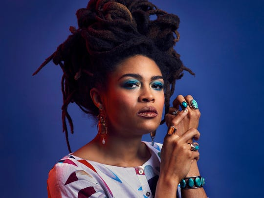 Valerie June performs at the Pabst Theater Friday.