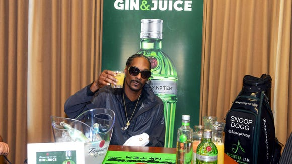 Snoop Dogg played golf near Augusta National and then served some gin and juice