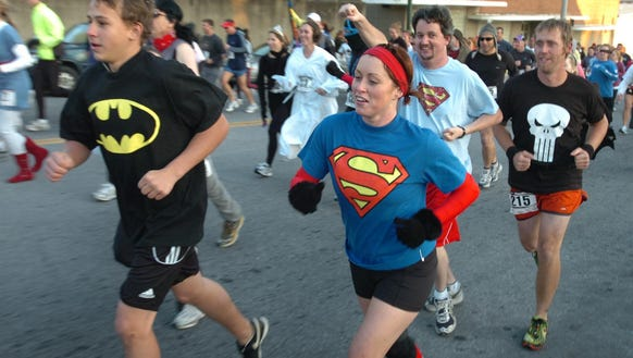 The Super Hero 5K Race Sept. 23 is part of the three-day