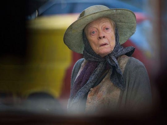 "Maggie Smith stars in ""Lady in the Van,"" which opens"