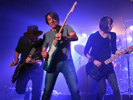 Drive-By Truckers, in this photo during the 18th Annual