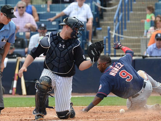 MLB: Spring Training-Minnesota Twins at New York Yankees