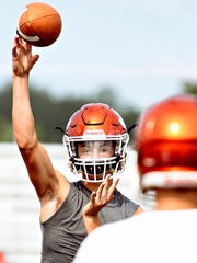 Central York's Beau Pribula is expected to return to quarterback next season for the Panthers.