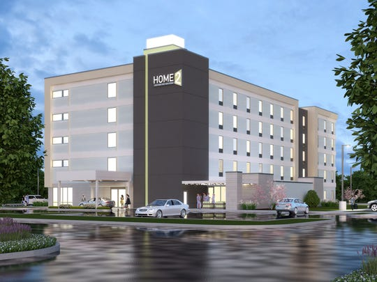 A 107-room Home2 Suites by Hilton hotel is slated to open in York Township in 2016.