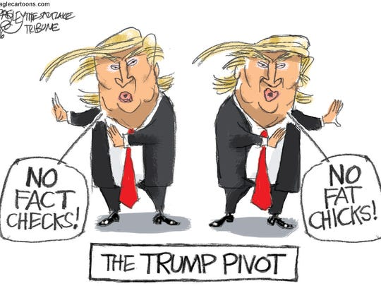 Pat Bagley, Salt Lake Tribune, drew this editorial cartoon.