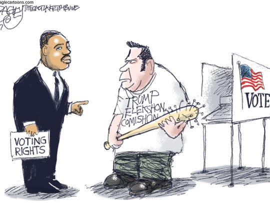 Pat Bagley, Salt Lake Tribune, drew this editorial