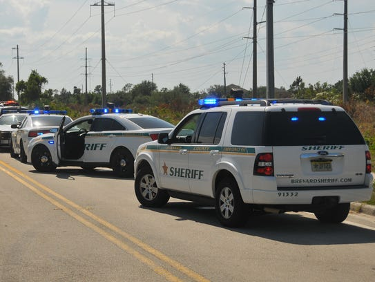 Brevard County Sheriff's Office units.