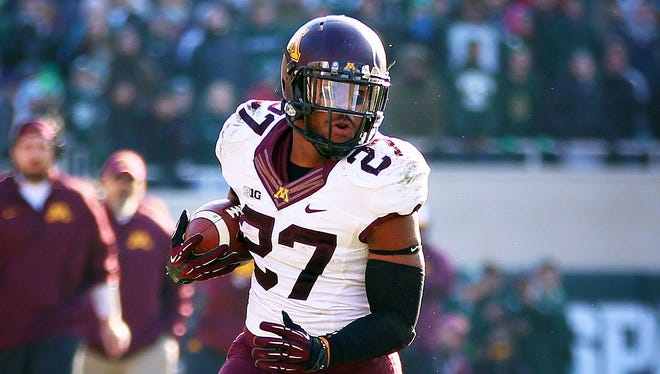 Minnesota tailback David Cobb may need to control the Texas Bowl to keep a diverse Syracuse offense off the field today.