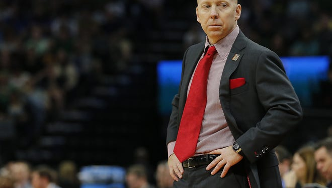 Cincinnati Bearcats head basketball coach Mick Cronin once was an assistant to Rick Pitino at Louisville. With Pitino out as U of L coach, Cronin did not comment Wednesday on potential speculation that he might be among candidates to replace Pitino.