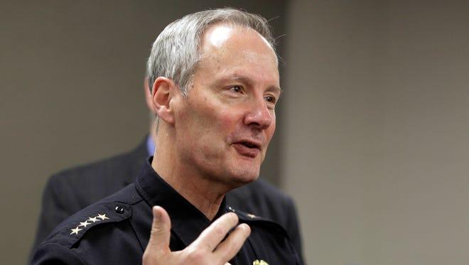Milwaukee Police Chief Edward Flynn retired Feb. 16.