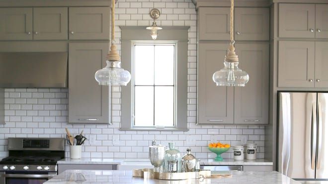 1. Take cabinets and backsplash tile up to the ceiling.