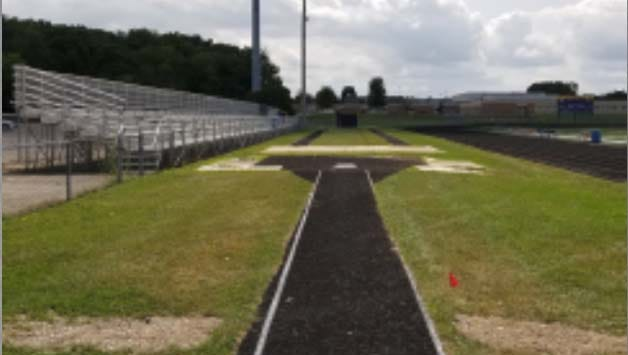 The jump area is pictured here at Kettle Moraine High School's football stadium and track. It's an area that is part of a master plan compiled by district officials to potentially upgrade its outdoor facilities at the high school and Kettle Moraine Middle School.