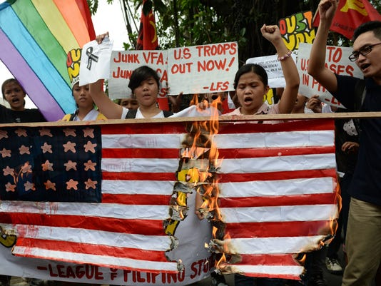 PHILIPPINES-US-MILITARY-DIPLOMACY-HOMICIDE