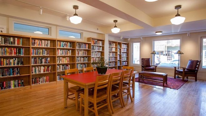 The new Reading Room at Phoenicia Library