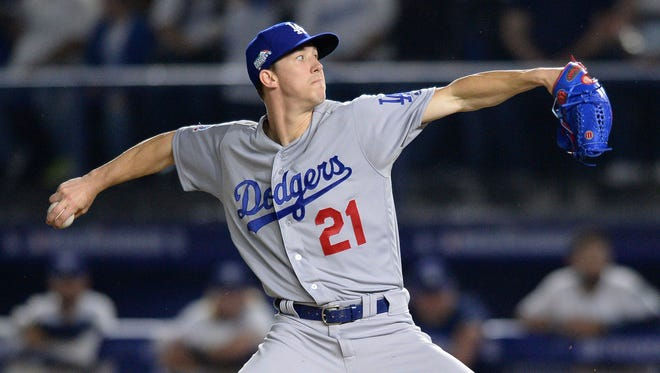 The Dodgers' Walker Buehler is 3-1 with a 3.45 ERA and 39 strikeouts in 12 games over two seasons. As a starter, he's 2-1 with a 1.64 ERA.