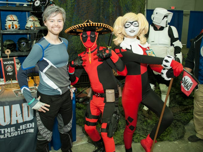Pensacon starts off,Saturday, without a hitch with