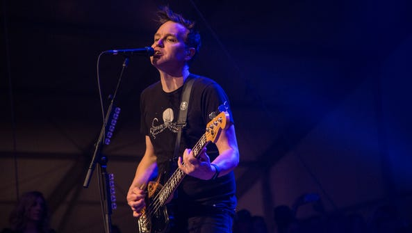 Blink 182 performs at the Bird's Nest at the Phoenix