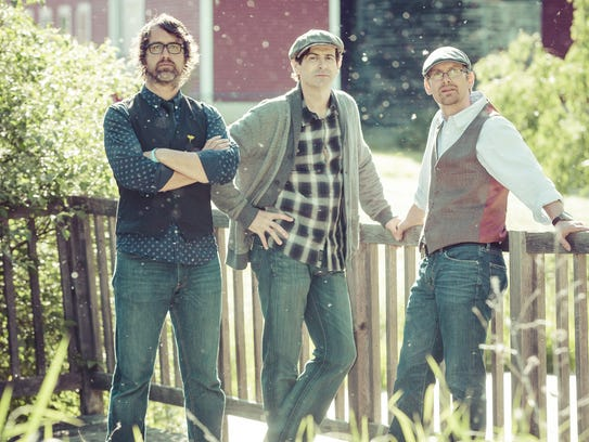 The Sweet Remains: Brian Chartrand (from left), Greg