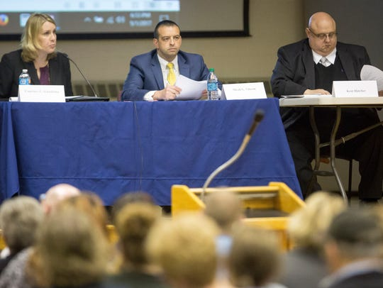 Members of the Indiana State Distressed Unit Appeals