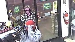 Two suspects are being sought by New York State Police in a reported armed robbery that occurred in Port Crane Tuesday morning.