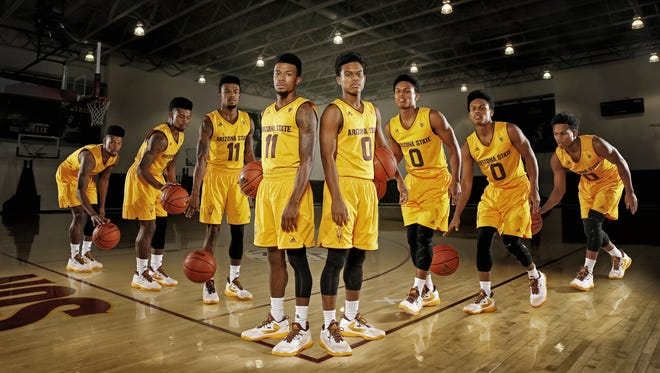With ASU thin in the post, the Sun Devils will rely on guards Shannon Evans and Tra Holder to play a faster pace.