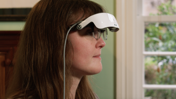 High-tech glasses are helping blind people see