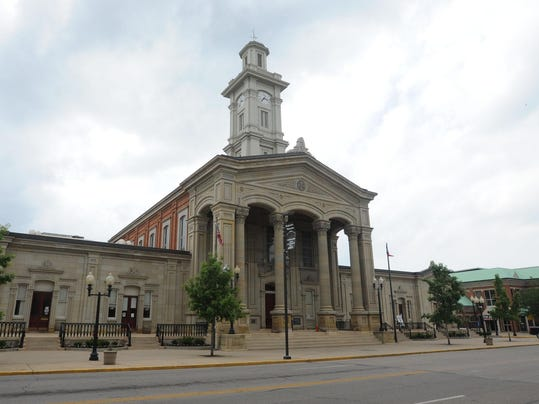 CGO STOCK Ross County Courthouse