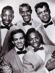 The Impressions' original lineup, clockwise from top left: Jerry Butler, Sam Gooden, Arthur Brooks, Curtis Mayfield and Richard Brooks.