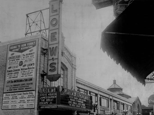 Loew's Rochester theater debuted in 1926; it was razed