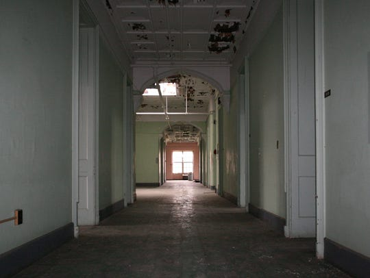 This third-floor ward at the former Binghamton State