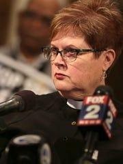The Rev. Jill Zundel, pastor of Central United Methodist