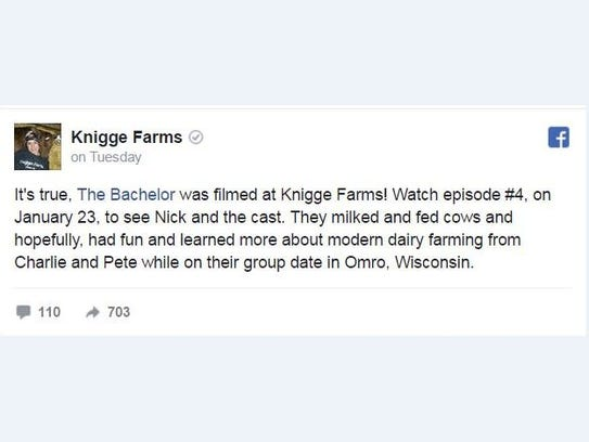 The Knigge family confirmed the news of the taping