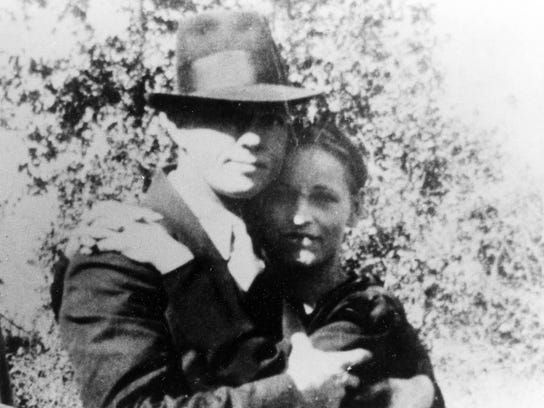 Clyde Barrow and Bonnie Parker were ambushed and killed