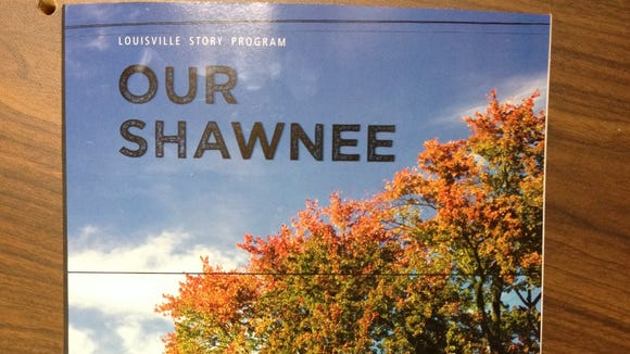 """Cover of the book """"Our Shawnee"""""""